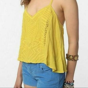 Ecote Embroidered Lightweight Tank Size S